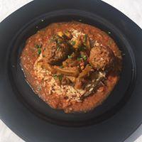 Boulettes de boeuf en sauce orientale